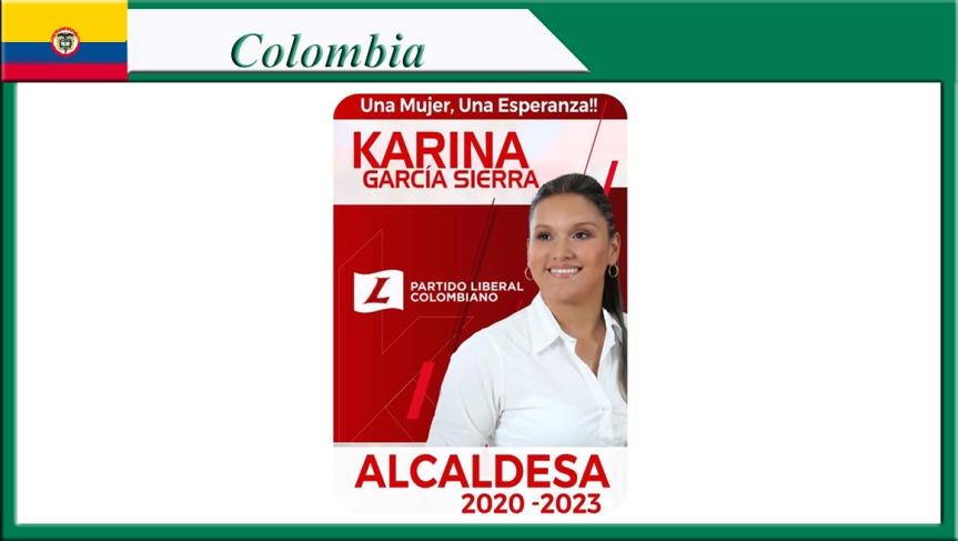 Atroz asesinato en Colombia: masacraron e incineraron a una candidata aalcaldesa