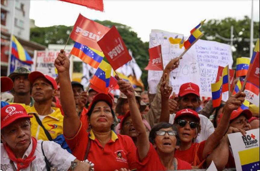 Trabajadores del mundo se solidarizan con el pueblo venezolano ante las agresiones deEEUU