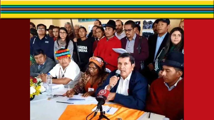 Sectores sociales de Ecuador entregan plan económico a ONU eiglesia