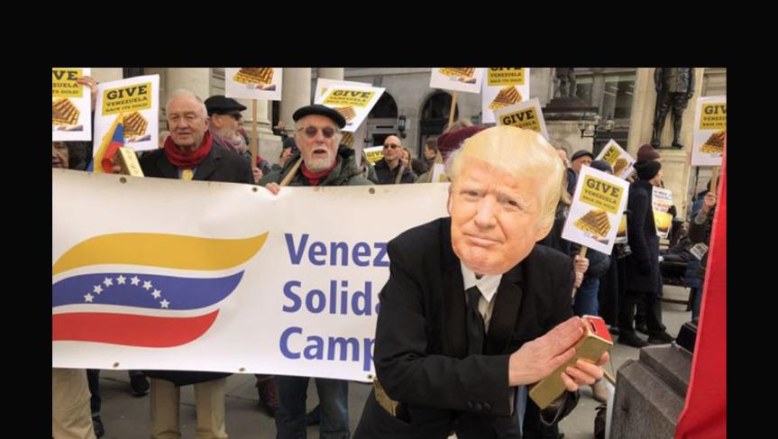 """Acerca de la falsa """"información"""" que llega a Europa (y Colombia) sobreVenezuela."""