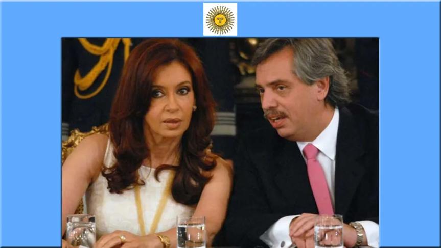Alberto y Cristina Fernández, nuevo gobierno en camino enArgentina