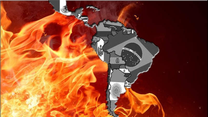 América Latina en llamas: ¿problemas internos o injerenciasexternas?