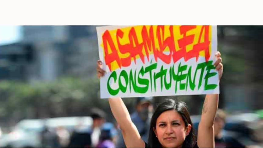 Chile pide Asamblea Constituyente y el gobierno ladescarta