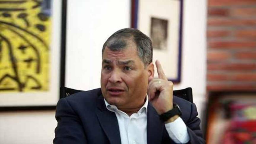 Pronostica Rafael Correa un sistema político alternativo alactual