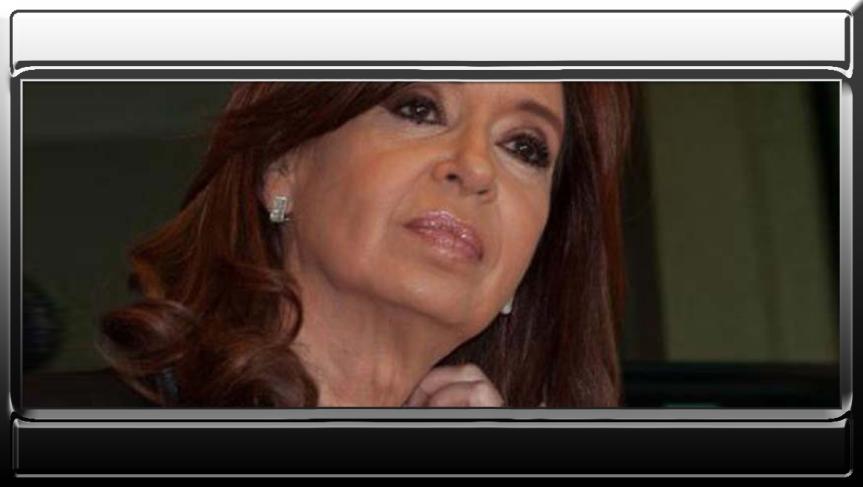 Cristina Fernández: parece ahora los presidentes seautoproclaman