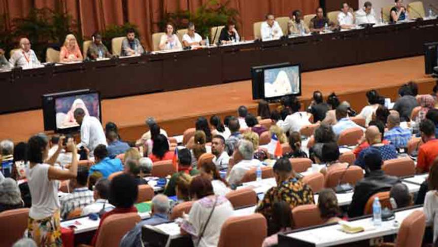 Concluye en Cuba encuentro antiimperialista contra el neoliberalismo(+Video)