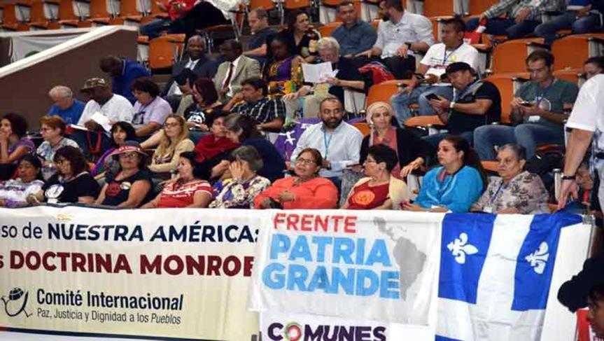Instan en Cuba a incrementar la resistencia al neoliberalismo(+Video)