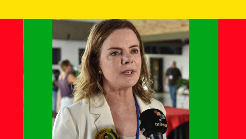 Agradece líder brasileña solidaridad y cariño de Cuba conLula