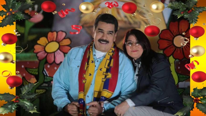 Presidente Maduro le da la bienvenida a la Navidad2019