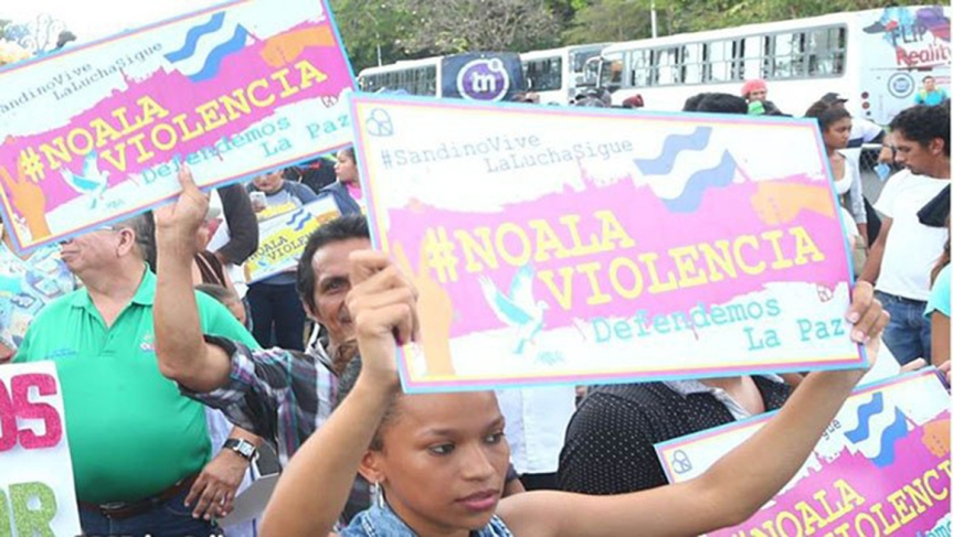 Nicaragüenses rechazan injerencias externas y coerciónunilateral