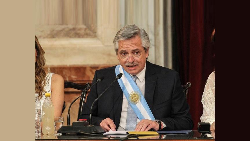 Discurso de Alberto Fernández comopresidente