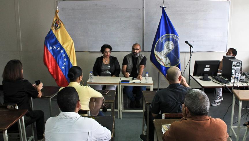 Venezuela: Ubevistas conversaron sobre las Corresponsalías en situación deGuerra