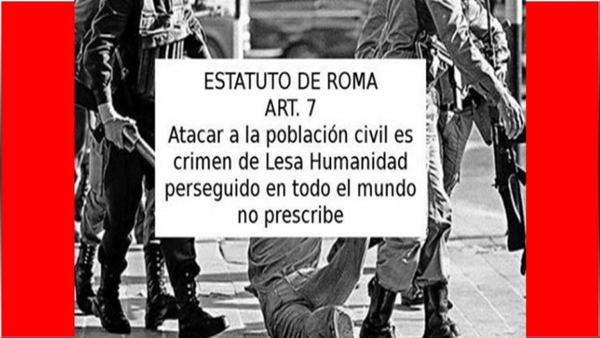 AAJ condena muertes y represión del ESMAD enColombia.