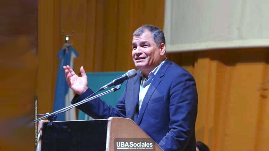 Rafael Correa confía en que Alberto Fernández levantará aArgentina