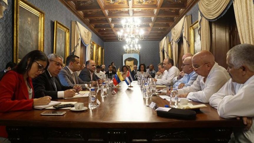 Venezuela y Cuba afianzan cooperaciónbilateral