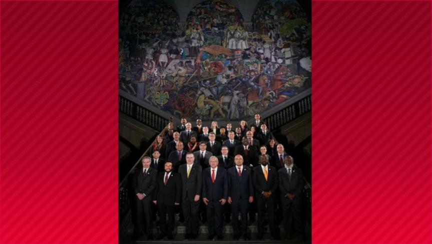 México apuesta a la unidad y a fomentar la cooperación en laCelac