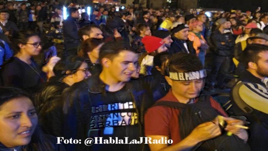 Movilizaciones en Colombia contra políticas de IvánDuque