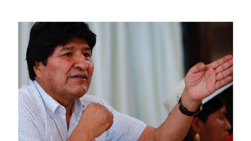 Evo Morales agradeció respaldo internacional ante accionesgolpistas