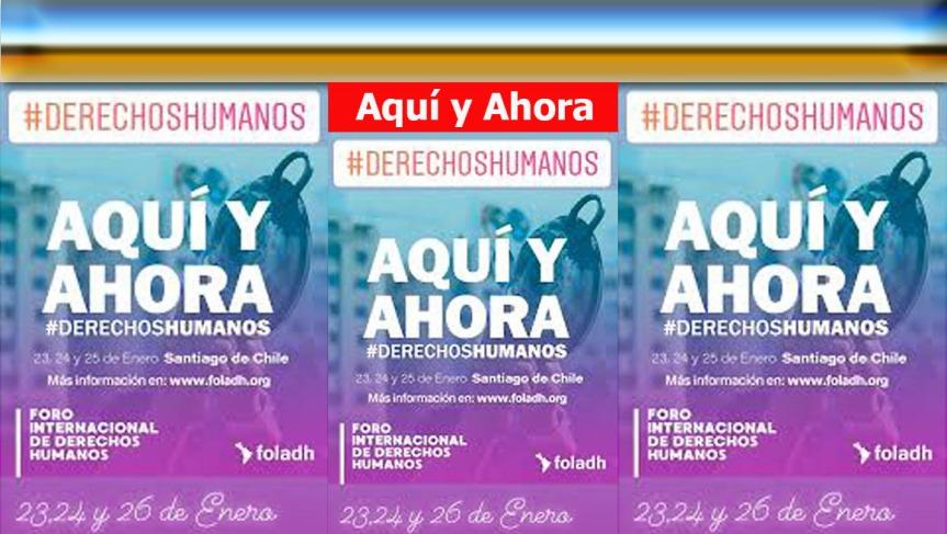 Foro sobre derechos humanos reúne en Chile a importantespersonalidades