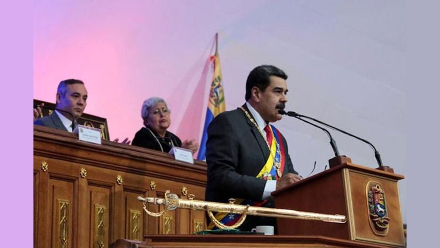 Presidente de Venezuela resalta grandeza del pueblo en2019