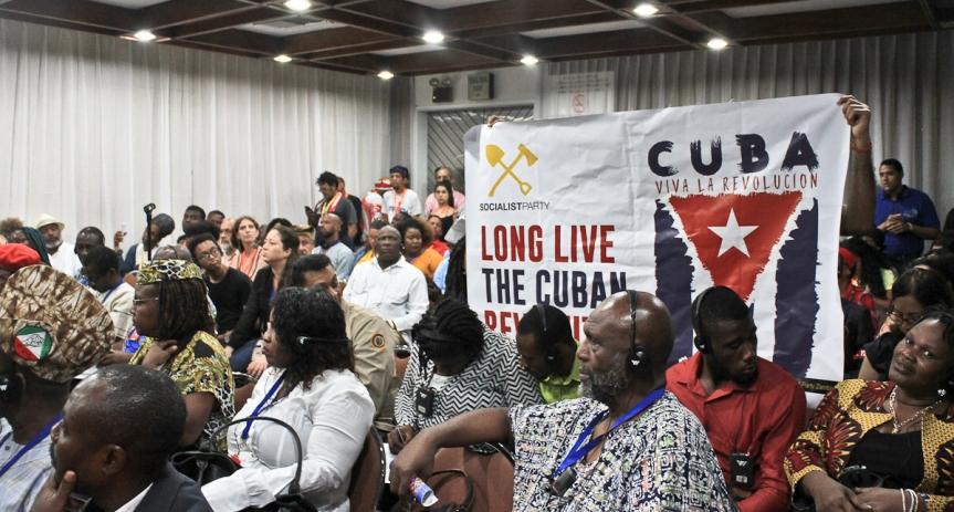 Pueblos Originarios del Mundo, alzan su voz contra elImperialismo