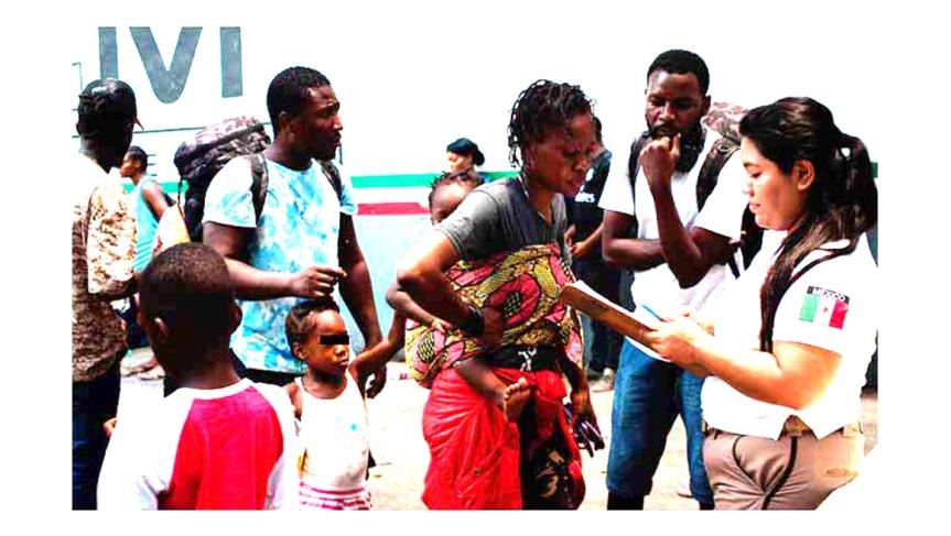 México repatrió cerca de 700 migrantesirregulares