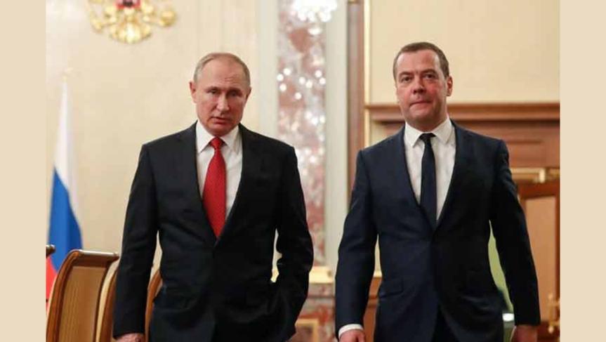 El Gobierno ruso dimite después de que Putin proponga cambios a la Constitución durante su discurso alParlamento