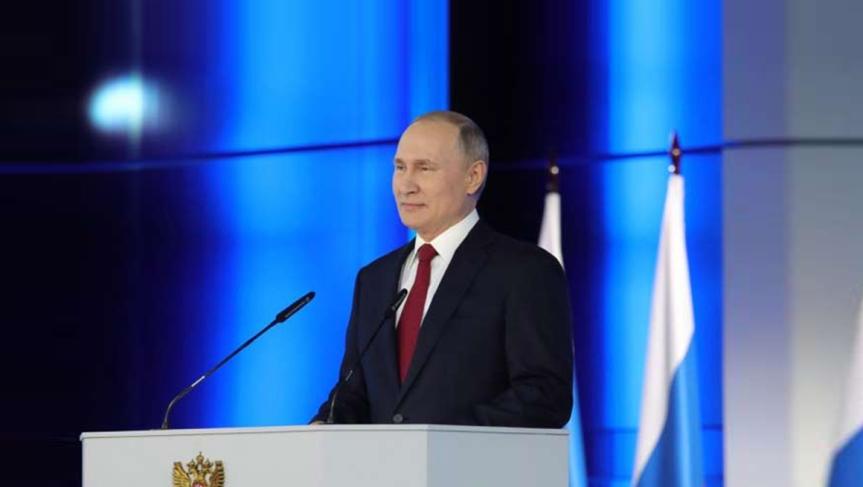 Putin esboza soluciones sociales y admite enmiendas aConstitución