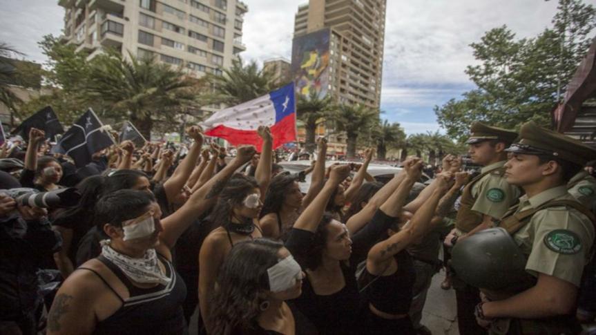 Llaman en Chile a masivas protestas feministas enmarzo