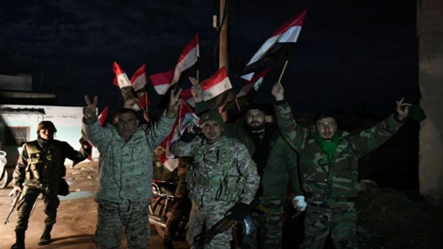 Ejército de Siria controla cumbre estratégica enAlepo