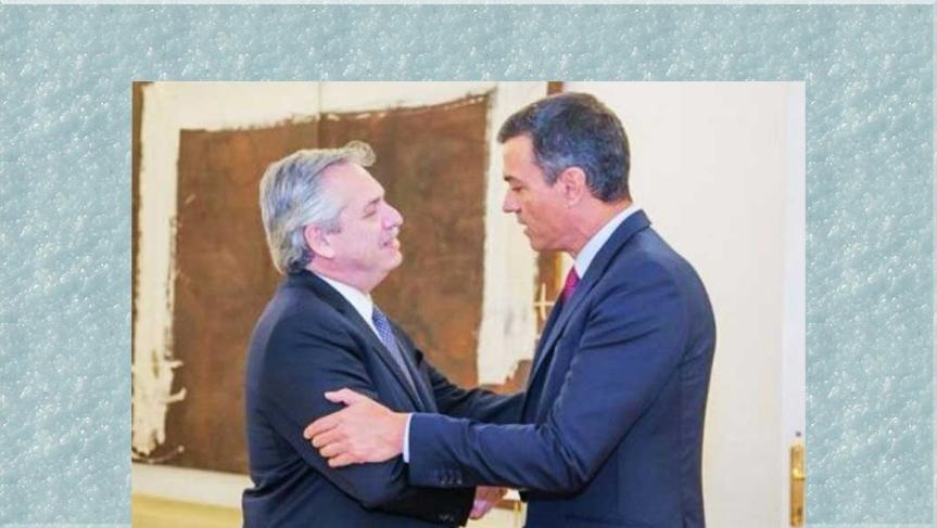 Presidente de Argentina continúa en España su giraeuropea