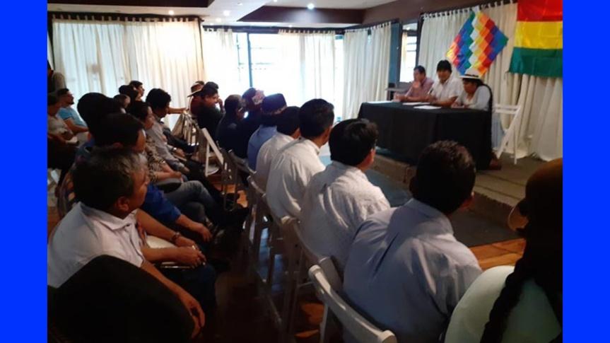 Evo Morales, Luis Arce y dirigentes del MAS se reúnen en BuenosAires