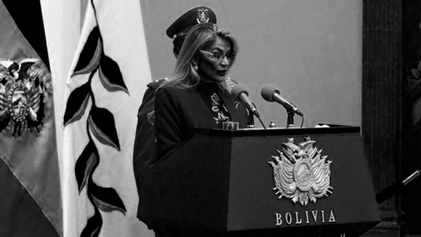 Juez de Tibunal Constitucional de Bolivia declara ilegal la presidencia de facto deAñez
