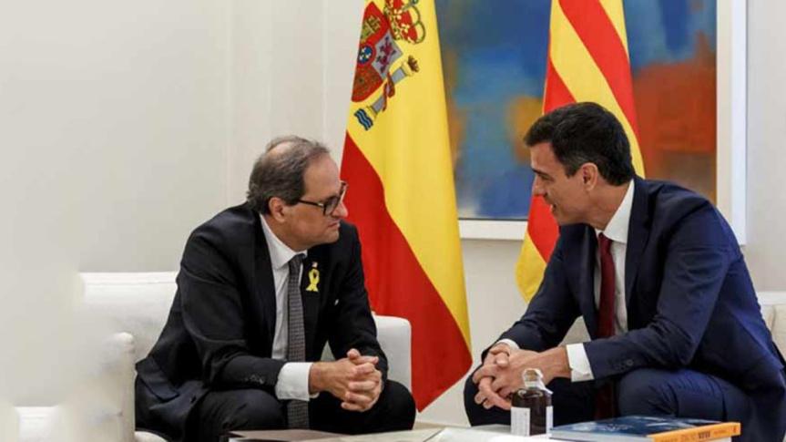 Gobierno de España inicia diálogo con separatistascatalanes