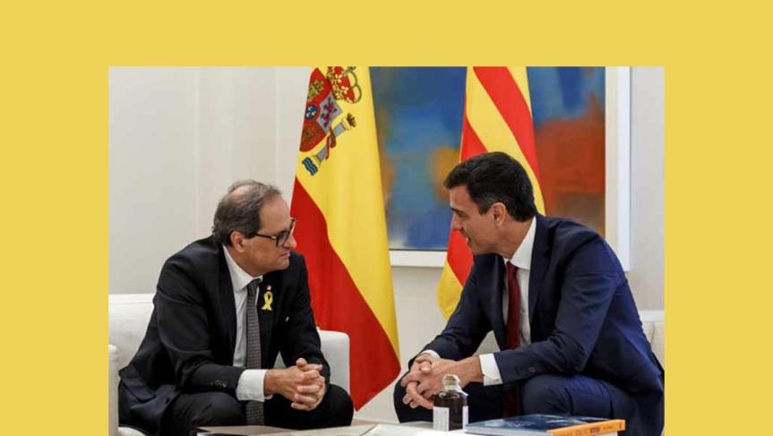 España busca distender conflicto secesionista enCataluña