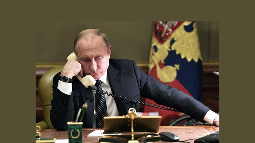 Putin expresa a Erdogan preocupación por ataques terroristas enSiria