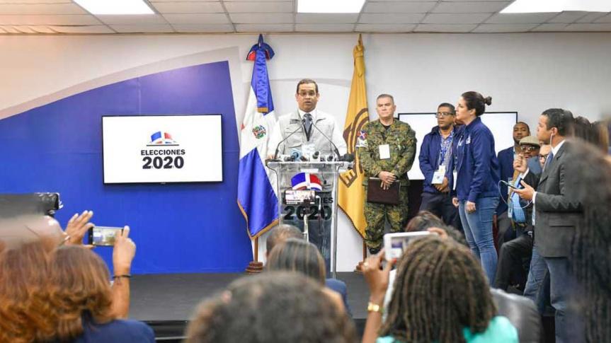 Elecciones en Dominicana bajo absoluta normalidad, según laJCE