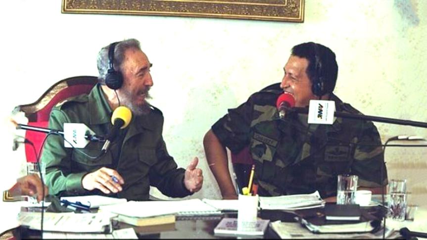 """Chávez a Fidel: """"Yo para eso no tengo complejos, ¡padre te llamo delante delmundo!"""""""