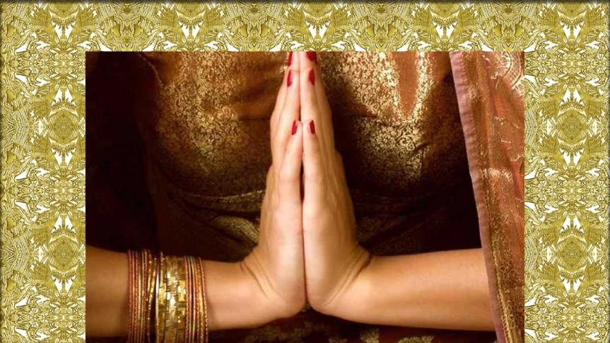 El Namasté, tradicional saludo en India evita contagio decoronavirus