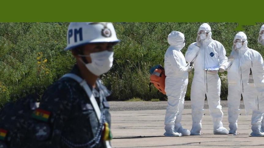 Descontento en Bolivia por incapacidad para enfrentarCovid-19