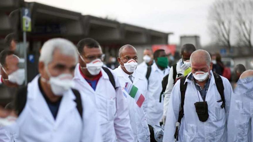 Prensa rusa destaca solidaridad médica de Cuba ante laCovid-19