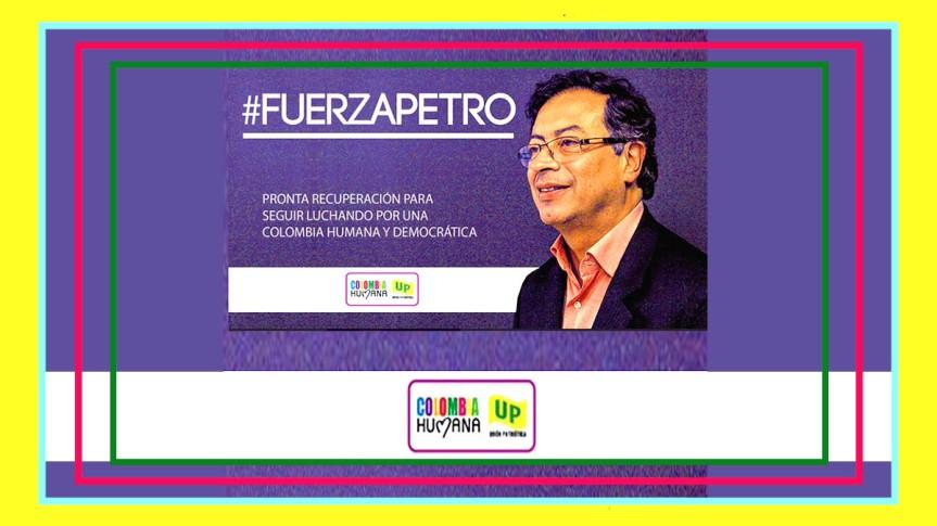 En el CIMEQ está siendo atendido el Senador Gustavo Petro.#FuerzaPetro