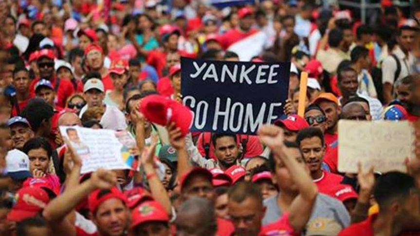 Con Venezuela en el corazón, contra la invasiónimperialista