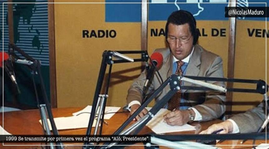"""Presidente Maduro celebra 21 años del programa """"Aló Presidente"""" espacio creado por el Comandante HugoChávez"""