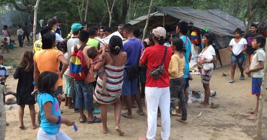 Los rostros del hambre por el covid 19 enColombia