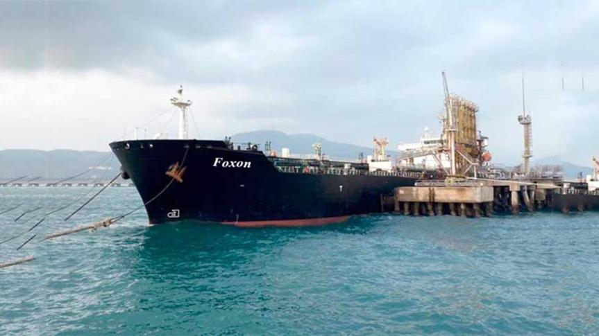 Cuarto petrolero de Irán en aguas jurisdiccionales deVenezuela