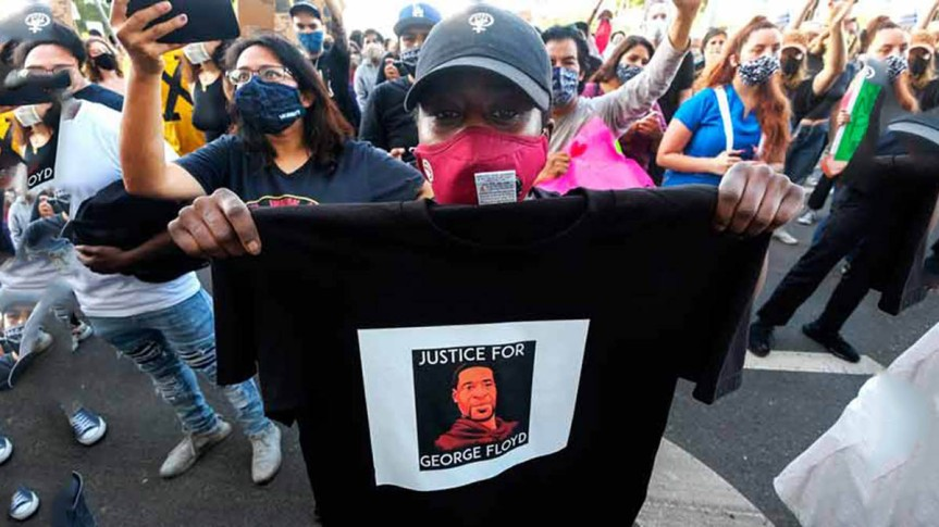 Indignación por asesinato de afroamericano enEE.UU.
