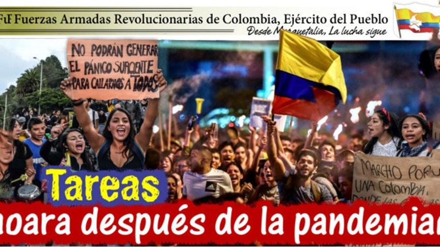Colombia. FARC-EP: Tareas para después de lapandemia