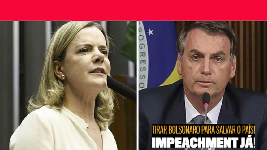 PT-Brasil reafirma su compromiso de lucha y destitución deBolsonaro