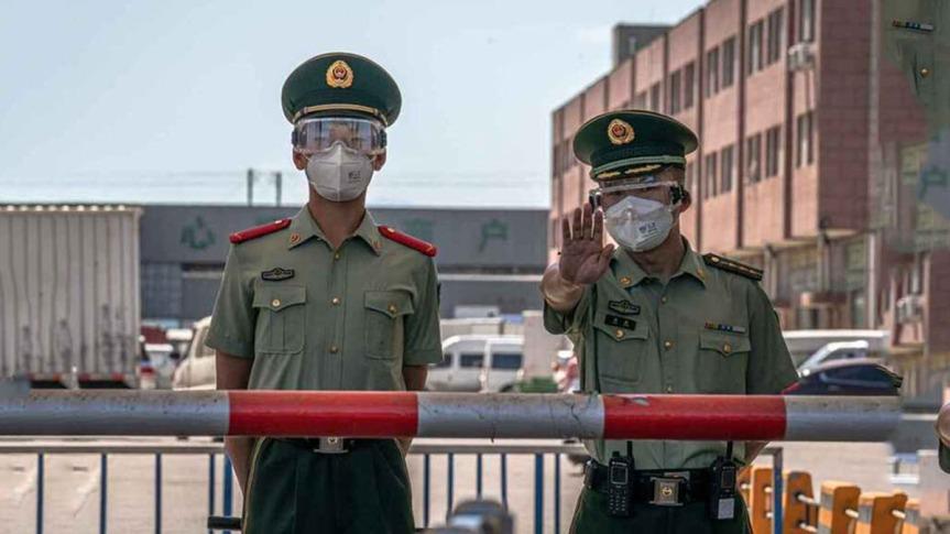 Brote de Covid-19 en Beijing tendría pronto su pico, auguran enChina